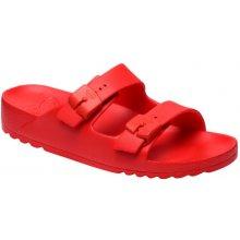 Scholl BAHIA zdravotní pantofle červené fa0889bc20