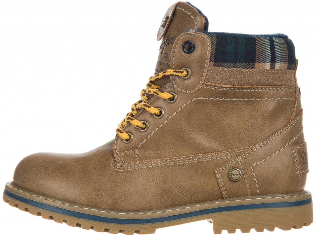 Wrangler Creek Kotníková obuv dětská hnědá od 639 Kč - Heureka.cz 85a73d8572