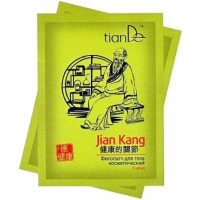 tianDe Kosmetický fytopatch na tělo Jian Kang 5 ks