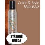 Omeisan Color & Style Mousse tužidlo (středně hnědé) 200 ml
