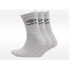 9076870ba7b Umbro ponožky 3 pack šedé PERFORMANCE