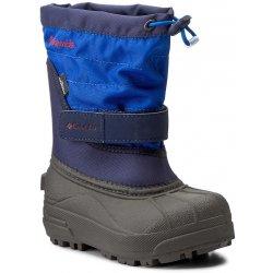 Columbia Zimní boty Dětské chILDrENS POwDErBug PLuS II Vybělená   fialová 8225bc51f1