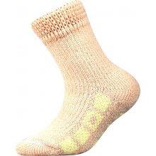 Boma Spací dětské thermo ponožky meruňková 19f941b6eb