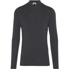 J.Lindeberg Aello Soft Compression Jersey pánske thermo triko, černé