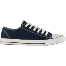 Lee Cooper Canvas Lo Shoes Mens Navy