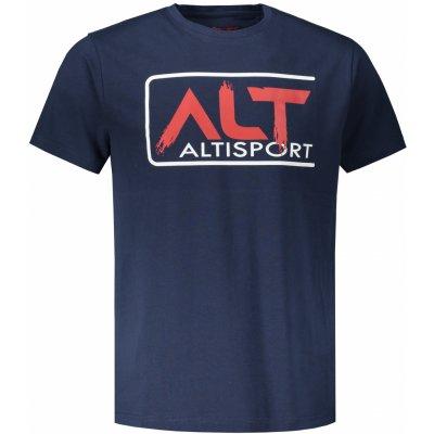Altisport Pánské triko LEKAN MTST644 TMAVĚ modrá
