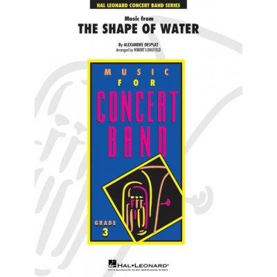 Music from The Shape of Water / Tvář vody (noty pro školní orchestr, party, partitura)