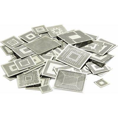 Set BGA šablon pro přímý ohřev k překuličkování BGA čipů 560ks