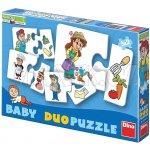 Dino Baby Puzzle v krabici 18 dílků