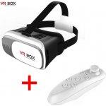 2v1 VR box II Virtuální brýle 3D + Bluetooth dálkový ovladač