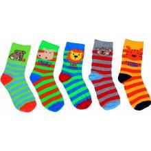 Bugga Dětská sada 5ks ponožek barevná