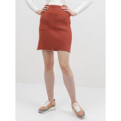 Noisy May svetrová sukně Ship cihlová