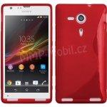 Pouzdro S-Case Sony Xperia SP / C5303 Červené