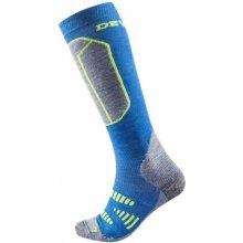 dd87b0a81d9 Devold Alpine Kid z Merino dětské funkční ponožky podkolenky vlny modré