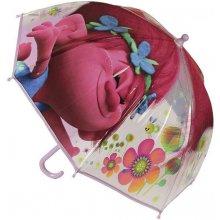 Cerda Průhledný deštník Trollové Poppy POE průměr 70 cm