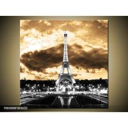 Obraz Obraz na skle Eifelova věž