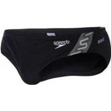 532f436ec5 juniorské plavky Speedo Monogram 7cm Brief černobílé