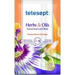 Tetesept Herbs&Oil Mučenka a pomeranč koupelová sůl s pečujícími oleji 60 g + 15 ml