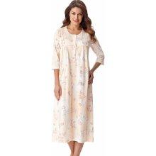 Dorota Lea dámská noční košile dlouhá s knofličky lososová d680784dea