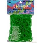 Rainbow Loom náhradní gumičky tmavě zelené 600 ks