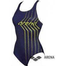 ecea2c4bb3 Arena W Solid Lightech High modrá. od 956 Kč · Arena W Osterland jednodílné  plavky navy soft zelená
