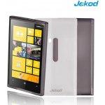 Pouzdro JEKOD TPU Ochranné Nokia Lumia 920 bílé