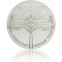 Česká mincovna Platinová investiční medaile Hospital Kuks stand 500 g
