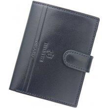 Emporio Valentini Kožená peněženka 563 PL04 granátová
