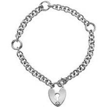 Hot Diamonds stříbrný náramek Love Lock DL523