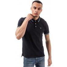 Armani Mens Polo Shirt Navy