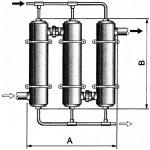 PAHLENS FABRIKER Tepelný výměník Maxi-Flo 195 kW