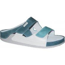 Medistyle zdravotní pantofle ZORA 7Z-J17 9 tyrkysová b753bf55c7