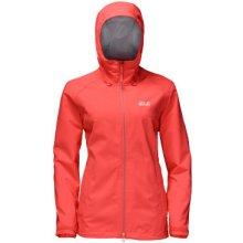 Jack Wolfskin Arroyo Jacket Women L Hot coral dámská outdoor bunda 2043
