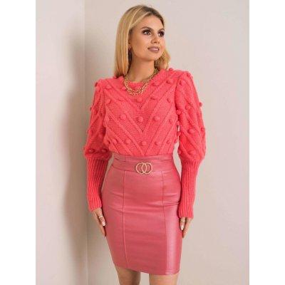 Tužková sukně korálová