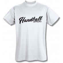 Style T Shirt Handball Bílá