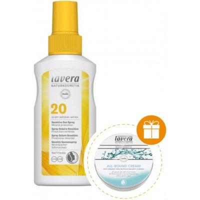 Lavera opalovací spray Sensitiv SPF20 BIO 100 ml
