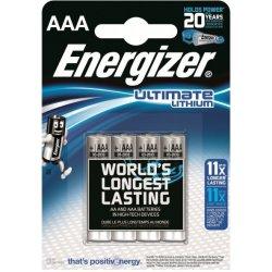 Baterie Energizer Ultimate Lithium AAA 4ks