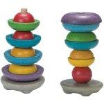 Plan Toys EKO navlékací misky na tyčku