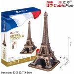 CubicFun 3D puzzle Eiffelova věž velká Paříž 82 dílků