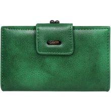 97342854a2a Cavaldi Dámská kožená peněženka zelená D14 2