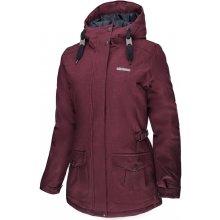 Erco Alasia dámská zimní bunda 17W2033RDW červená melange