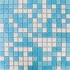 MSX Obklad mozaika skleněná modrá A11-32-33 2x2 (32,7x32,7) cm