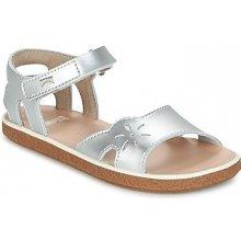 59856d152c9 Camper Sandály Dětské MIKO stříbrná