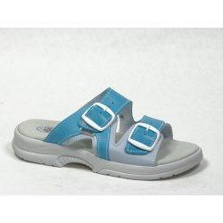 Santé N 517 55 087 016 BP zdravotní pantofle tyrkysové od 570 Kč ... 00fc9a522d