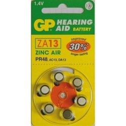 Baterie GP ZA13 6ks
