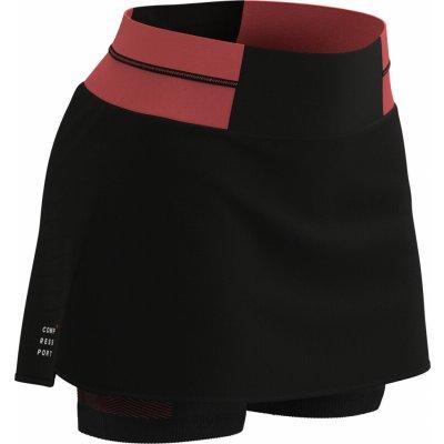 Compressport Performance Skirt W černá coral