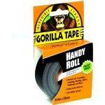 Gorilla Tape Handy Roll 25mm x 9,14m černá lepící páska