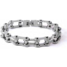 Náramek z chirurgické oceli řetěz InSpirit PNO005