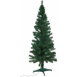 Vánoční stromek s optickými vlákny LED 180 cm zelený