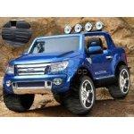 Dimix elektrické autíčko Ford Ranger Wildtrak modré lakované 2 motory R/C 24GHz EVA kola kůže